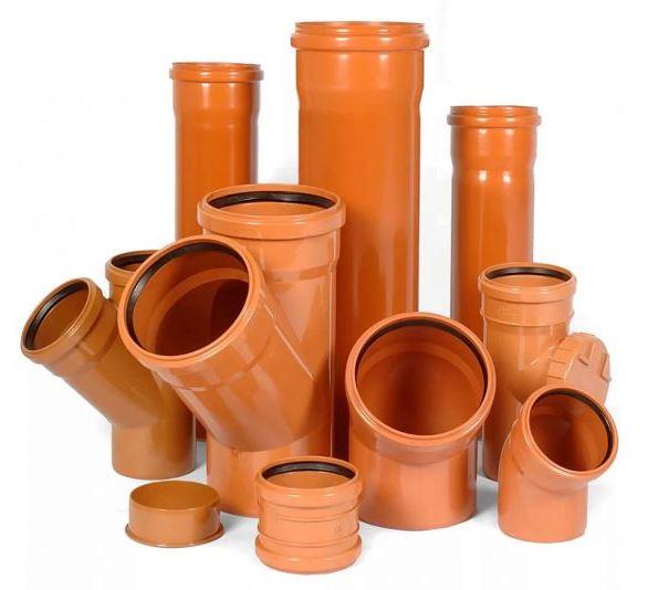 Трубы и фасонные части для наружной канализации