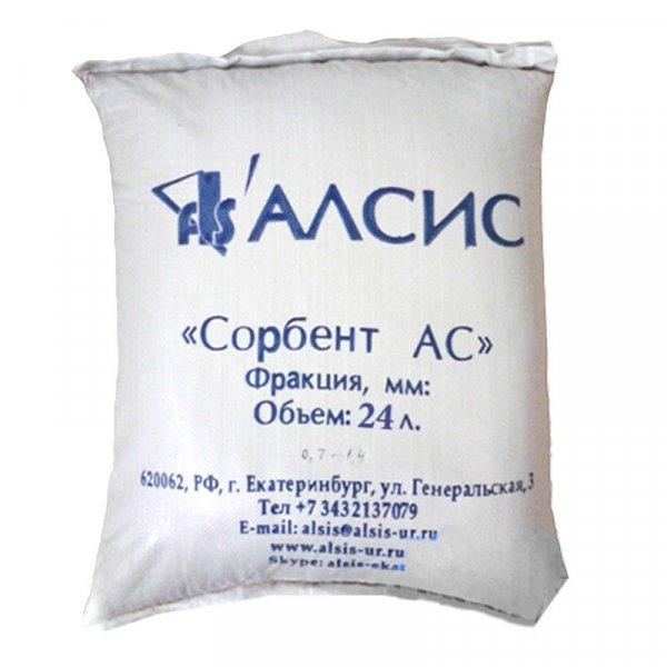 Сорбент АС (0,7-1,5 мм), 30 литров
