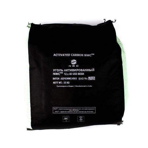 Активированный кокосовый уголь NWC Carbon 12*40 mesh, мешок 50 л.