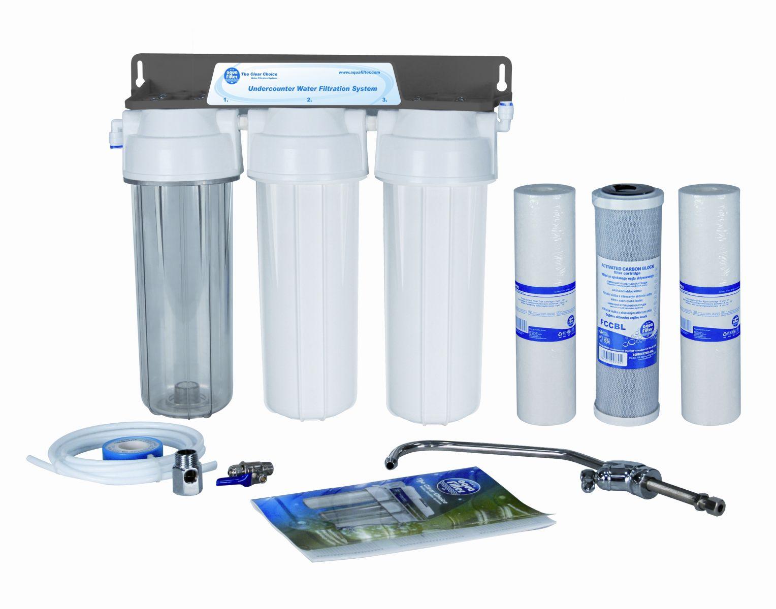 Бытовые фильтры и сменные катридж